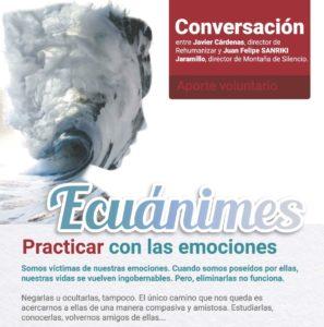 CONVERSACIÓN: ECUÁNIMES, Viernes 27 de julio, 6:30 p. m.